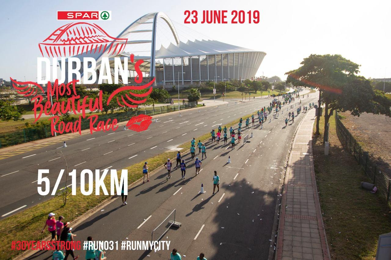 Spar Womens 10/5km Race Durban2019