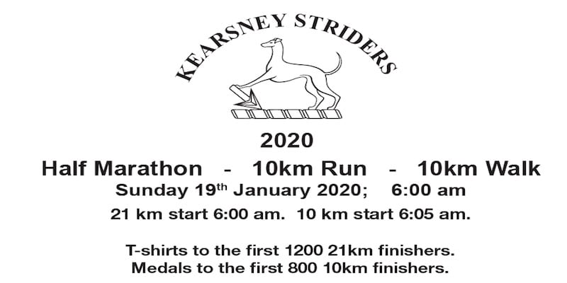 Kearsney Striders run 2020